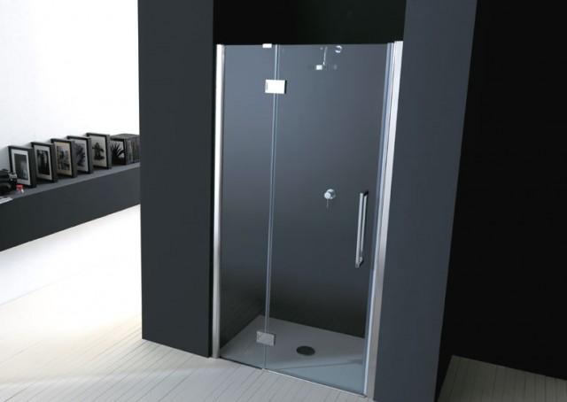 Porta battente per doccia a nicchia epb43n - Porta doccia nicchia prezzi ...