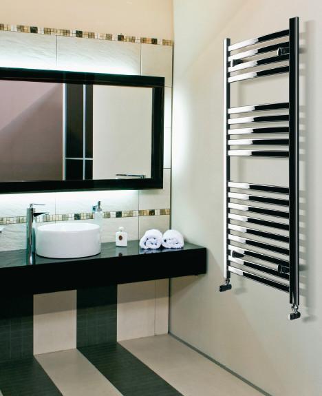 Radiatore da bagno merano bianco decorative for Radiatore bagno