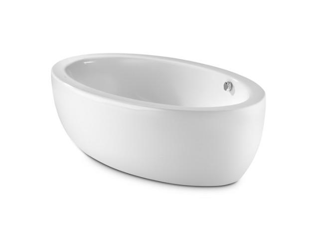 Vasca da bagno georgia one piece - Vasche da bagno ovali ...