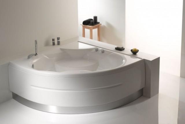 Vasca da bagno montreal 140x140 cm - Misure vasche da bagno angolari ...