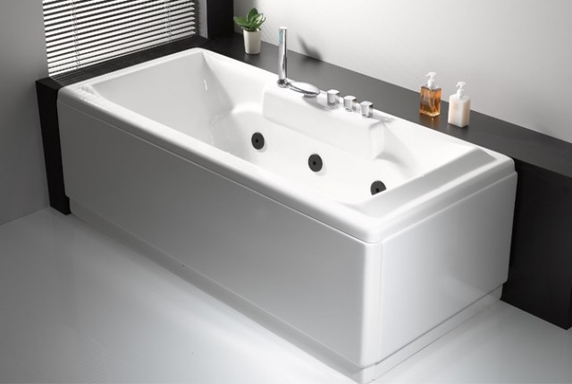 Vasca da bagno rettangolare - Vasca da bagno in cemento ...
