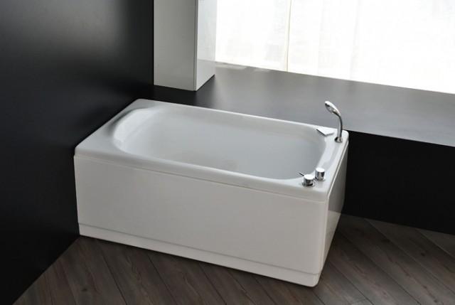 Vasca da bagno sedile 120x70 105x65 - Vasche da bagno misure ridotte ...