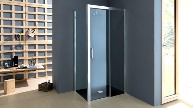 Box Doccia Cristallo Anta Scorrevole : Box doccia con anta scorrevole in cristallo quot psc