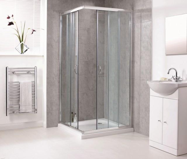 Box doccia con doppia apertura scorrevole 514 521 - Vetro doccia scorrevole ...