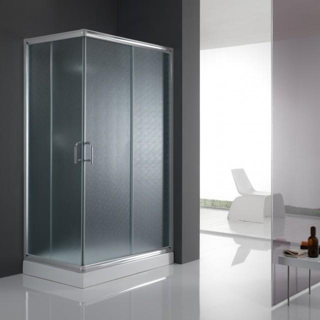 Box doccia con doppia porta scorrevole alabama 200 - Porta scorrevole doppia ...