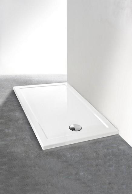 Piatto doccia rettangolare in acrilico serie 39 low 39 h 4cm - Piatti doccia in vetroresina ...