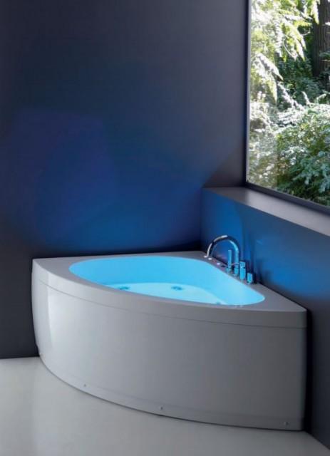Vasca da bagno asimmetrica sharm2 - Vasche bagno angolari ...