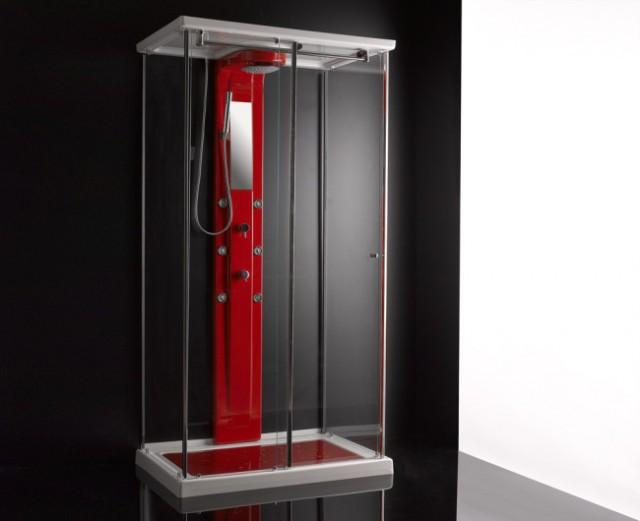 Cabina doccia idromassaggio santa cruz for Doccia multifunzione