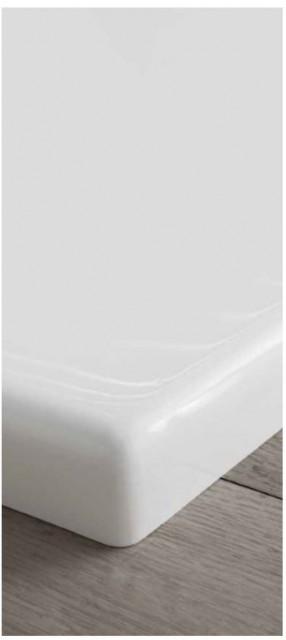 Piatto doccia rettangolare in acrilico pdar for Piatto doccia rettangolare