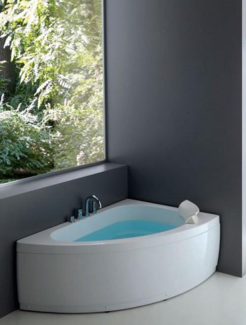 Vasca da bagno asimmetrica sharm2 - Vasca da bagno sovrapponibile ...