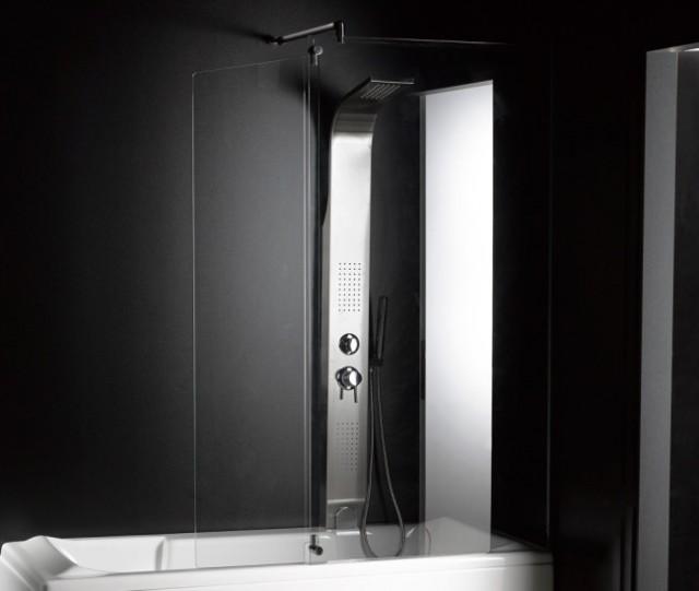 """Vasca da bagno combinata con box doccia """"rettangolare"""""""