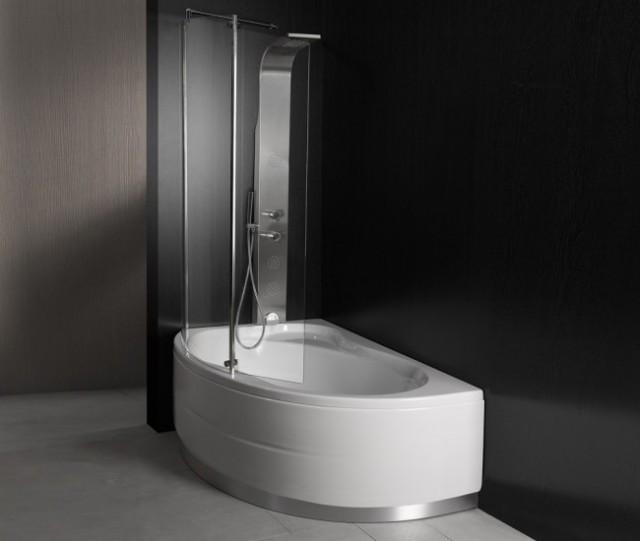 Vasca da bagno combinata con box doccia vancouver for Vasca e doccia combinate