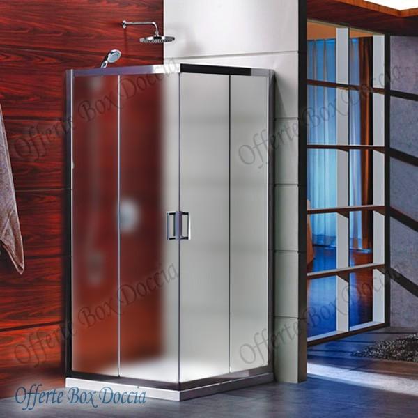 Box doccia doppia porta scorrevole f70 812 - Porta scorrevole doppia ...