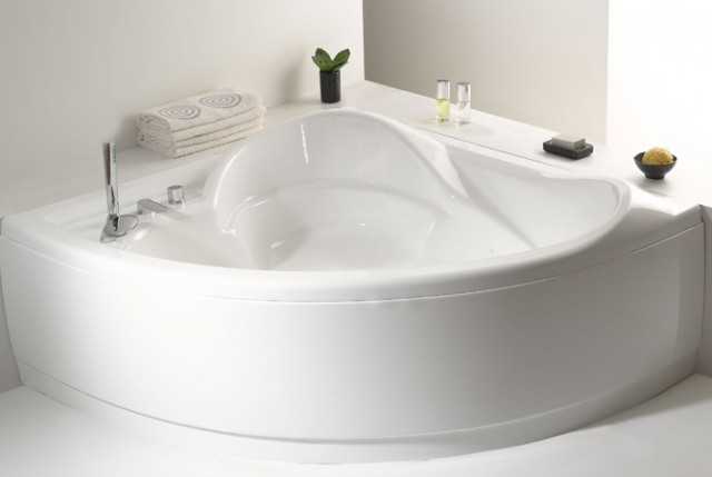 Vasca da bagno angolare - Ladybird vasca da bagno ...
