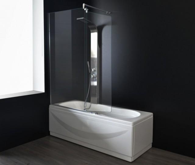 Vasca da bagno combinata con box doccia haiti - Vasca da bagno con doccia incorporata ...