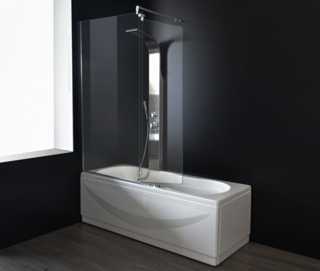 Vasca da bagno combinata con box doccia haiti - Box x vasca da bagno ...