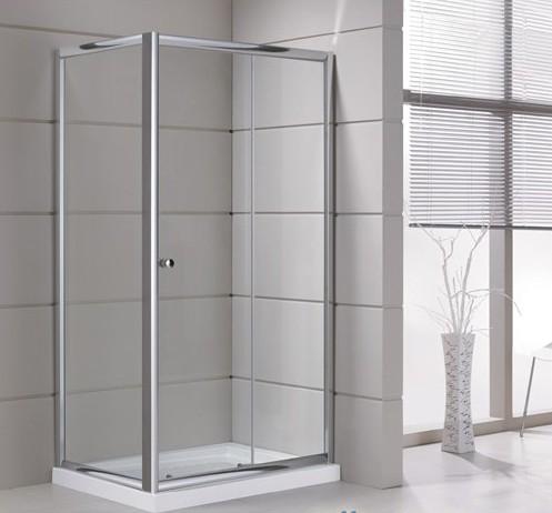 Box doccia angolare con porta scorrevole sm1p box - Chiusura doccia scorrevole ...