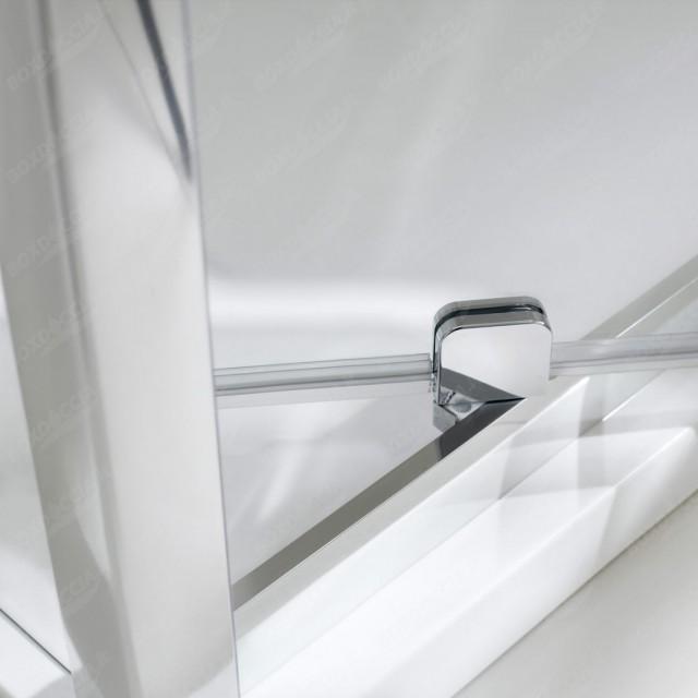 Box doccia con porta battente a 1 anta sintesi - Box doccia porta battente ...