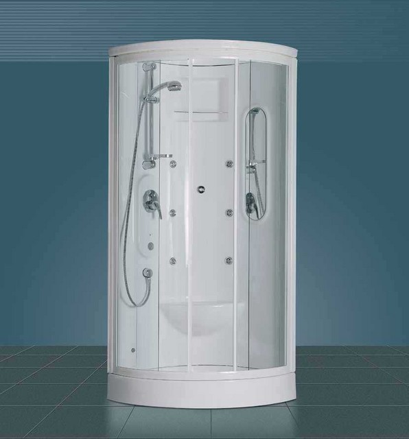 Box doccia semicircolare con parete monoblocco 39 calypso - Cabina doccia teuco prezzi ...