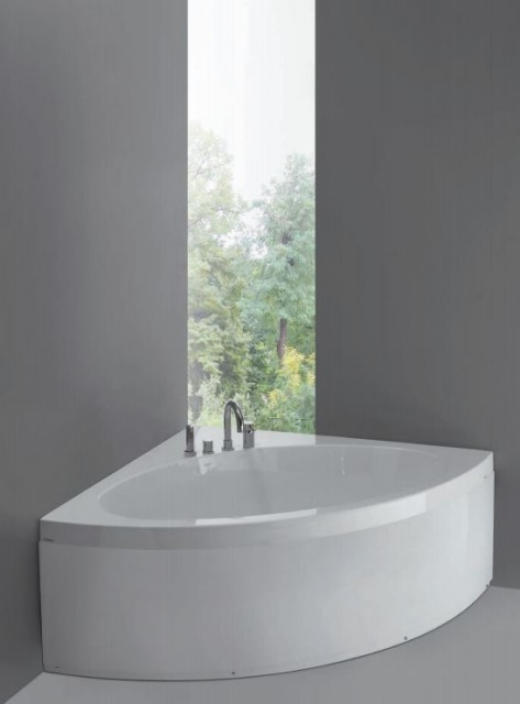 Vasca da bagno angolare sharm1 - Bagno con vasca angolare ...