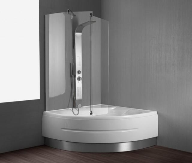 Vasca da bagno combinata con box doccia montreal - Vasca bagno con doccia ...