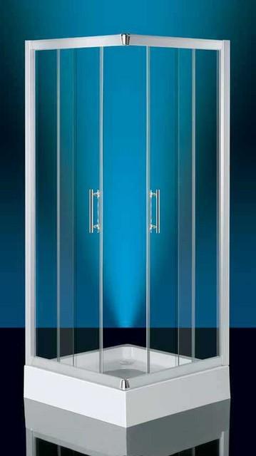 Box doccia in cristallo dirk apertura scorrevole for Box doccia scorrevole