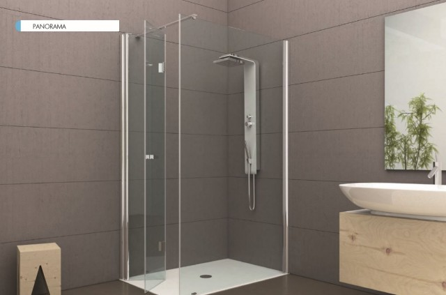 Cabine Doccia Cristallo : Box doccia cristallo mm semicircolare apertura scorrevole