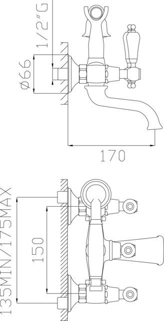 Gruppo vasca con doccia e flessibile doppia aggraffatura - Vasca da bagno doppia ...