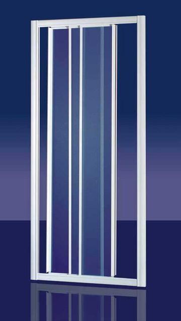 Porta doccia in cristallo 3mm 39 zenith door 39 apertura a 3 for Door 95 100 doors 3
