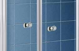 Porta doccia in cristallo saloon door - Porta doccia saloon ...