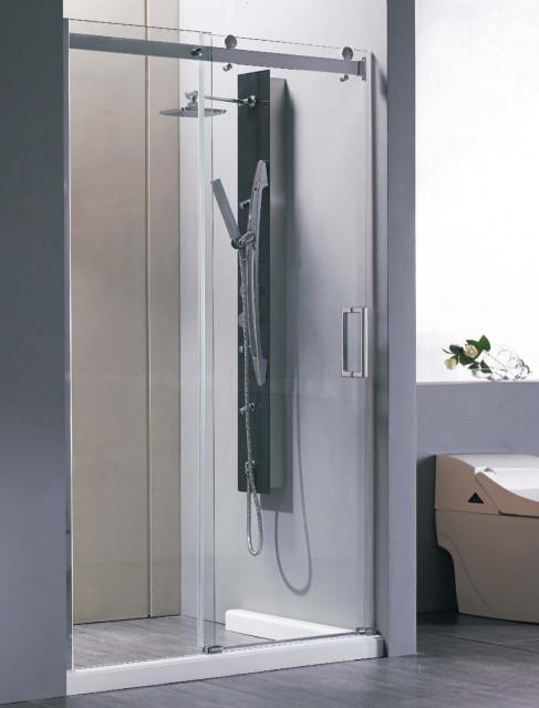 Porta doccia vetro trasparente frameless 39 am 39 - Porta doccia nicchia prezzi ...