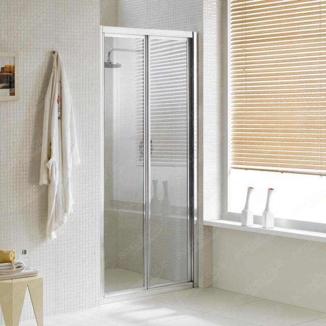 Porta per doccia a nicchia con apertura a libro urban - Porta per doccia a nicchia ...