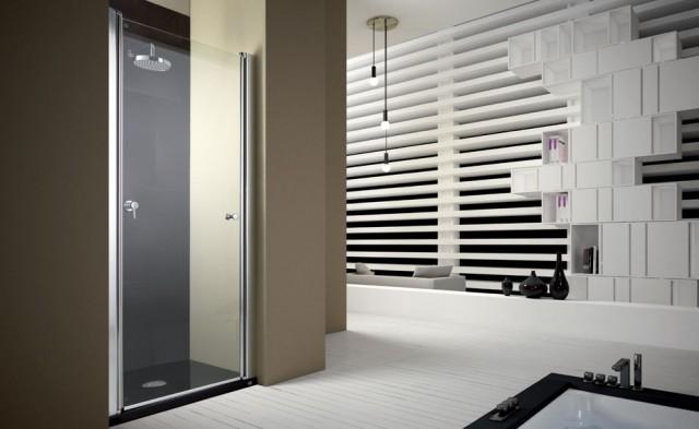 Porta pivot per doccia a nicchia pb20 - Porta doccia nicchia prezzi ...