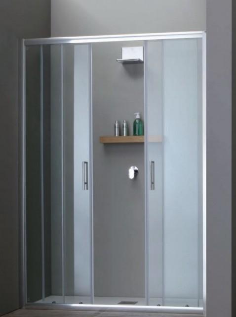 Porta scorrevole per doccia a nicchia psc57 - Porta scorrevole per doccia ...
