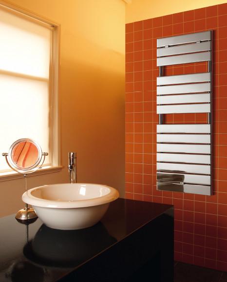 Radiatore da bagno palermo cromato decorative - Termoarredo bagno cromato ...