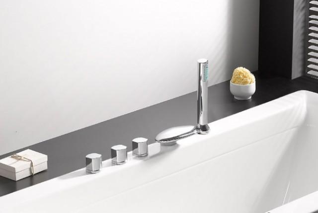 Vasca da bagno combinata combo - Vasca da bagno rettangolare prezzi ...
