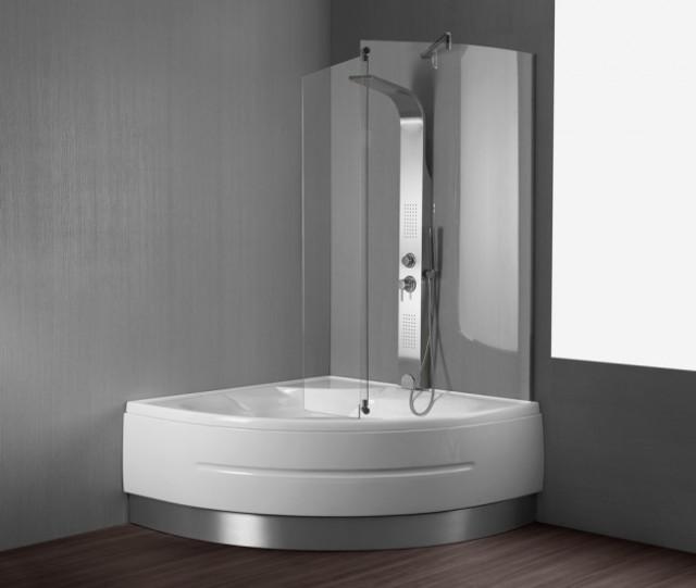 Vasca da bagno combinata con box doccia montreal - Vasca doccia da bagno ...