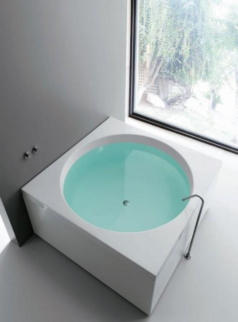 Vasca da bagno quadrata sharm - Riparazione vasca da bagno ...