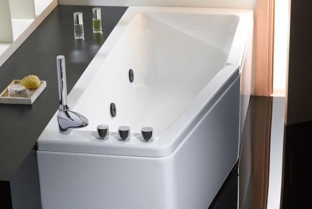 Vasca da bagno salvaspazio compact - Vasca da bagno libera installazione ...