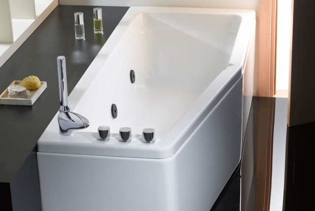 Vasca da bagno salvaspazio compact - Mezza vasca da bagno ...