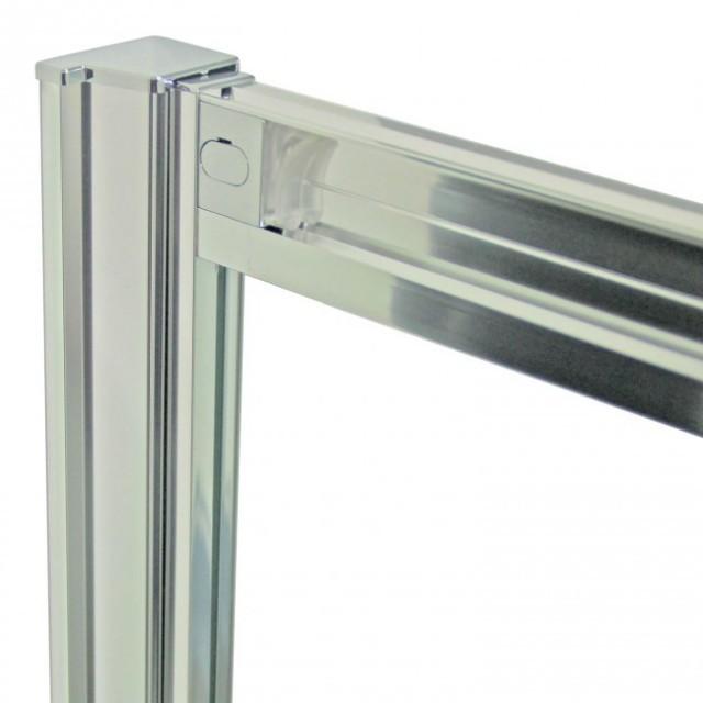 Box doccia semicircolare con porte scorrevoli angolari - Porte per docce ...
