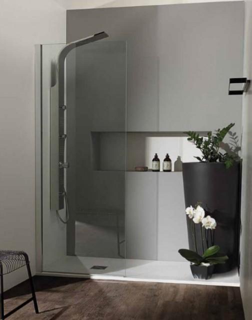 Piatto doccia rettangolare in marmoresina flat r3 for Piatto doccia rettangolare