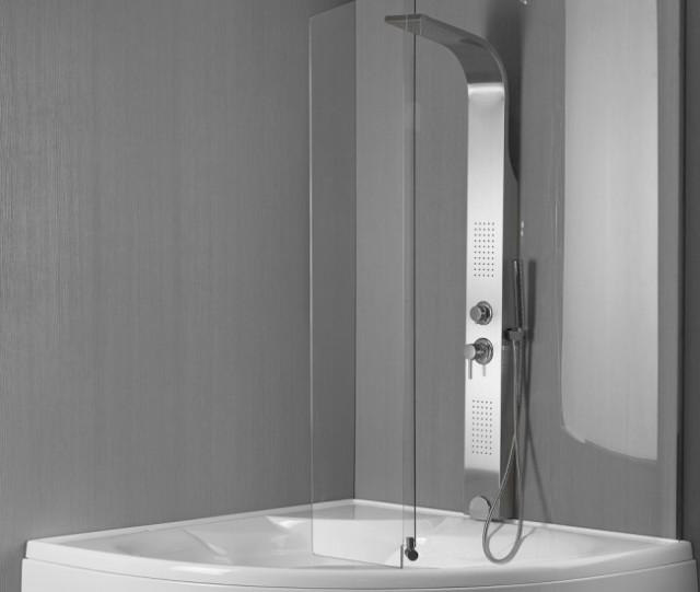 Vasca da bagno combinata con box doccia montreal - Vasca da bagno con sportello prezzo ...
