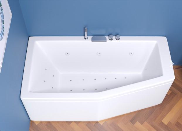 Vasca Da Bagno Salvaspazio Compact 150x70 170x70