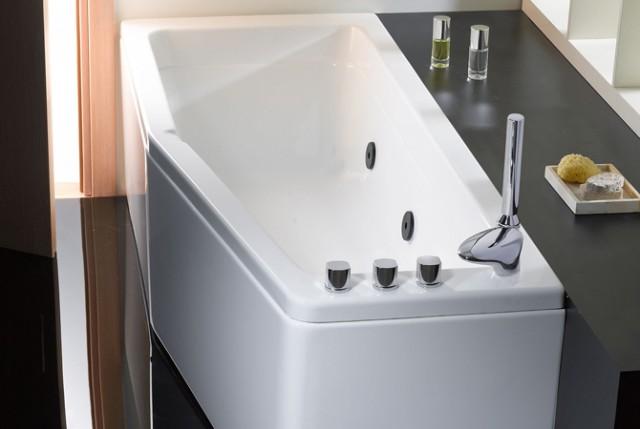 Vasca da bagno salvaspazio compact - Dimensioni vasca da bagno ...