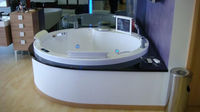 Vasca idromassaggio circolare ol6506 180 h65 - Vasca da bagno circolare ...