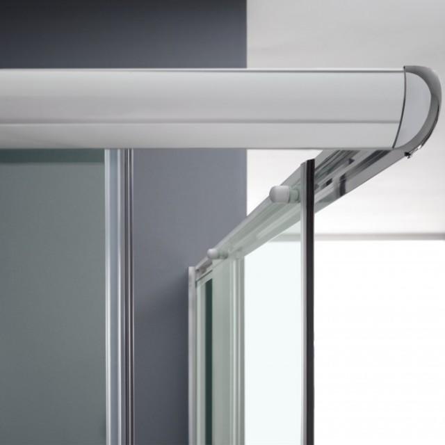 Box doccia con doppia porta scorrevole alabama 185 - Porta scorrevole doppia ...