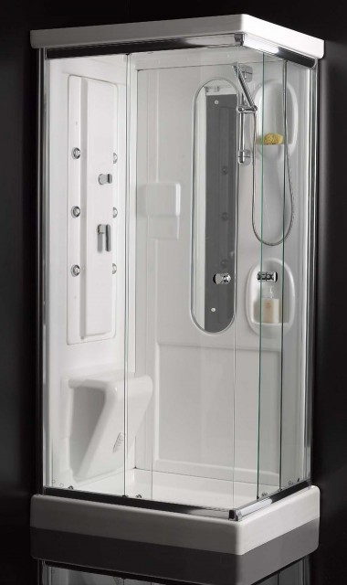 Cabina doccia idromassaggio washington for Cabina doccia eklis montaggio