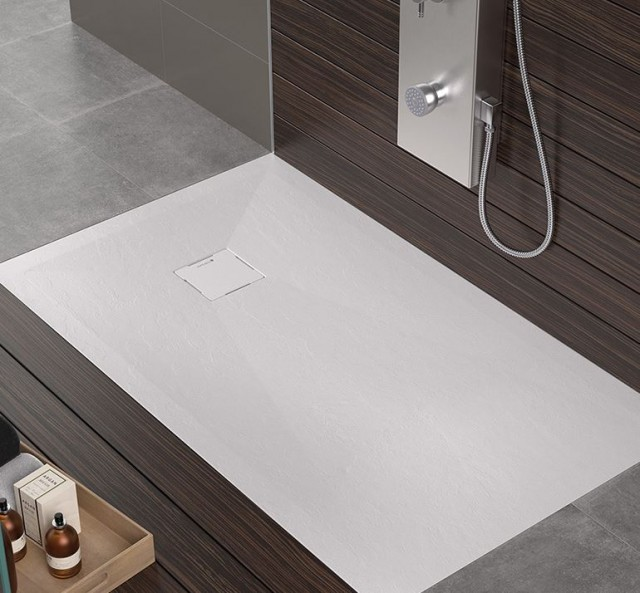 Piatto doccia in gel coat hidden - Plato de ducha de silestone ...