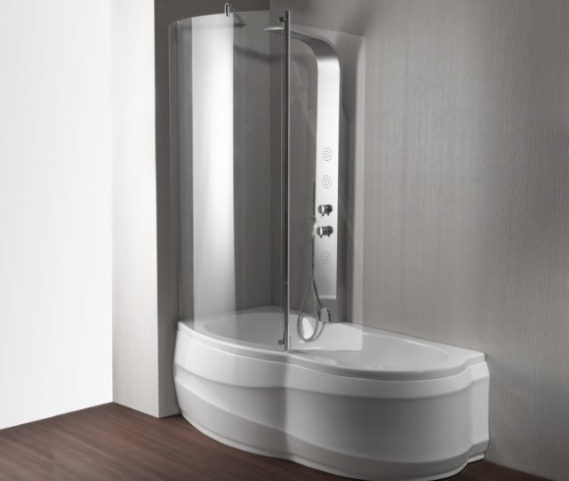 Vasca da bagno combinata con box doccia artesia - Vasche da bagno piccole con seduta ...
